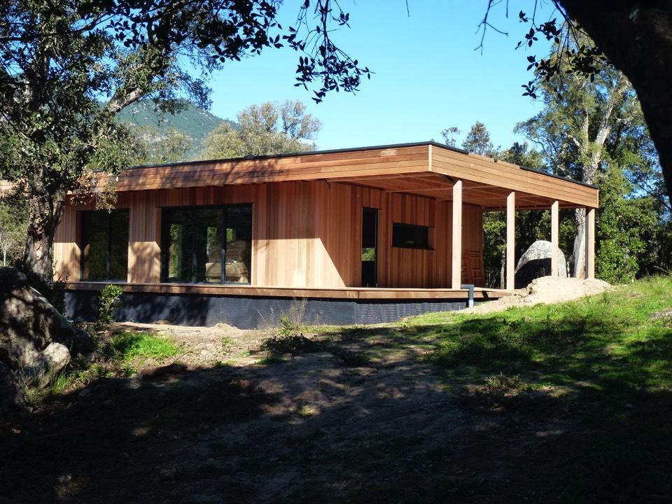 Maison en bois en corse 12 corse faire construire sa for Construire sa maison en bois en kit tarif